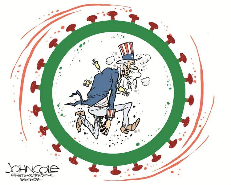 تلاش آمریکا برای کنترل پاندمی کرونا را ببینید!