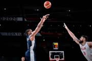 ببینید | پایان کار تیم ملی بسکتبال در المپیک با شکست مقابل فرانسه