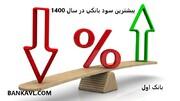 بیشترین نرخ سود سپرده بانک ها در سال ۱۴۰۰