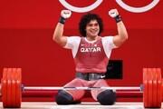 اولین مدال طلای تاریخ قطر در المپیک با رکوردشکنی به دست آمد