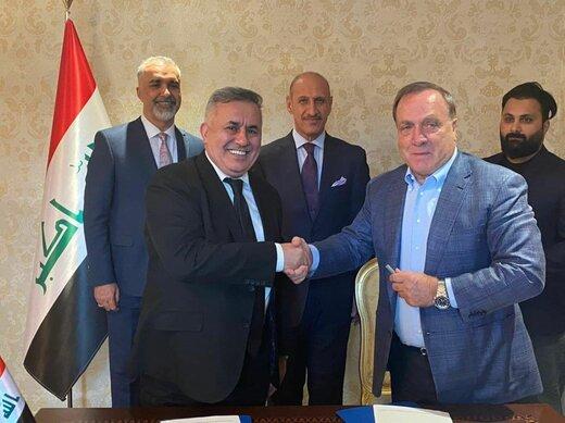 ادووکات رسما سرمربی عراق شد