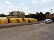 بیمارستان صحرایی برای بیماران مبتلا به کرونا در شهرکرد راهاندازی شد
