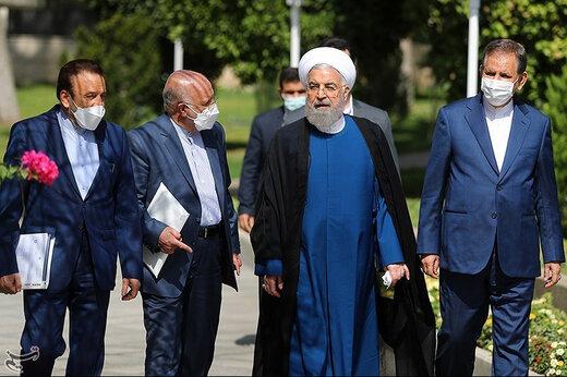 تصاویر   فریم به فریم با آخرین جلسه هیات دولت حسن روحانی
