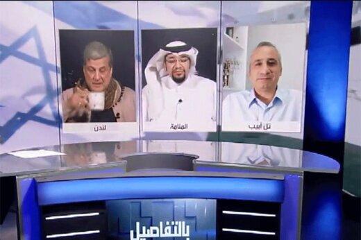 ببینید | تحقیر کارشناس ضد ایرانی بحرینی توسط «نجاح محمد علی» در پخش زنده