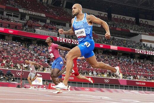ببینید   یک ایتالیایی سریعترین مرد المپیک شد