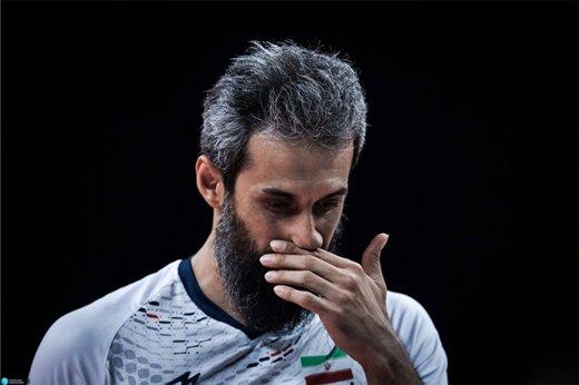 خداحافظی رسمی سعید معروف از تیم ملی والیبال/عکس