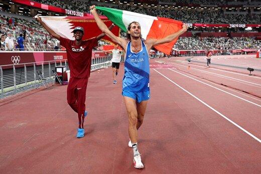 ببینید | پیشنهاد جالب و دیدنی یک ورزشکار به داور المپیک برای اهدای مدال طلا!