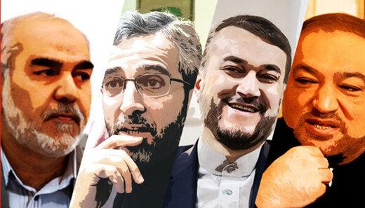 ۴ گزینه نهایی ابراهیم رییسی برای وزارت امور خارجه