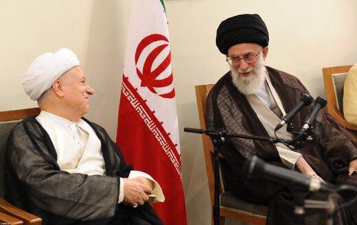 ببینید | گفتگوی منتشرنشده رهبر انقلاب با آیتالله رفسنجانی درباره بینتیجه بودن مذاکره با  آمریکا