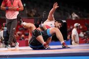 ببینید | حرکت زشت و زننده کشتیگیر ترکیه روی تشک المپیک