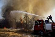 ببینید | آتشسوزی گسترده در ترکیه به هتلها رسید؛ فرار توریستها