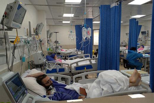 کمبود تختهای بیمارستانی در تهران/ روزانه ۱۰ هزار نفر در پایتخت بستری میشوند