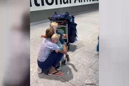 ببینید | لحظهای احساسی از دیدار مادری که در المپیک طلا گرفته با فرزندانش