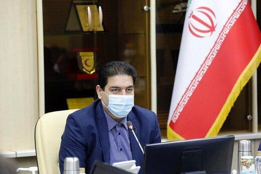 تداوم واردات واکسن از سوی هلال احمر/ توزیع ماسک و مواد ضدعفونی کننده در محرم و صفر