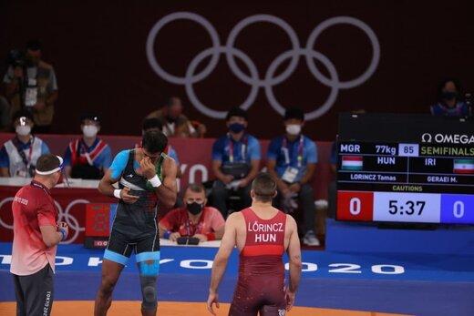 شکست تلخ گرایی و ساروی در نیمه نهایی المپیک