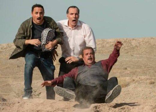 لحظات کمدی با بازیگران «دودکش ۲» در شهرک سینمایی دفاع مقدس/ عکس