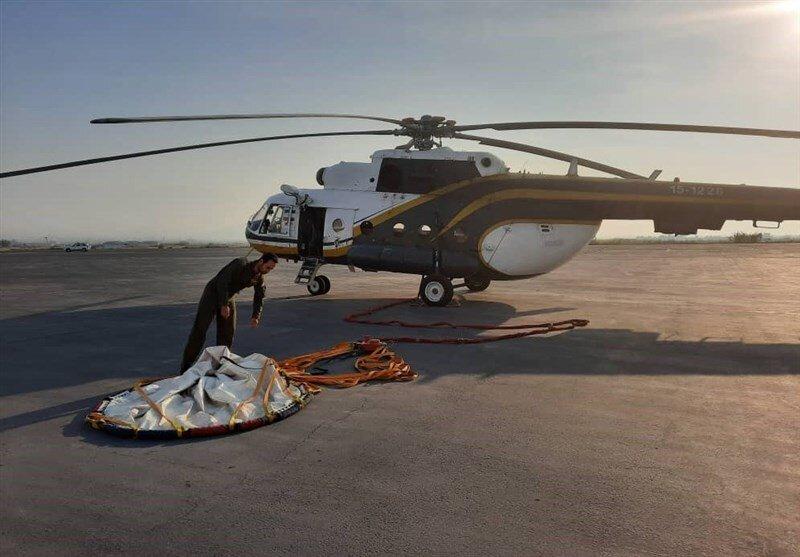 جزئیات مهم ماموریت های برون مرزی اطفای حریق توسط نیروی هوافضای سپاه