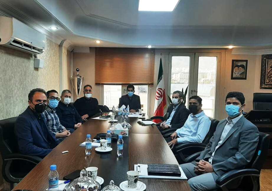 اولین جلسه اسکوچیچ در تهران/عکس