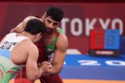ببینید | بوی مدال از المپیک توکیو بلند شد؛ نشان برنز بر گردن ساروی