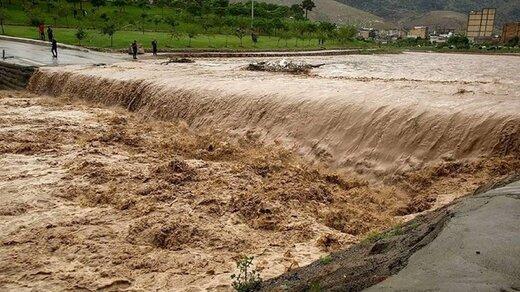 سیل به ۱۰ شهر در مازندران خسارت وارد کرد