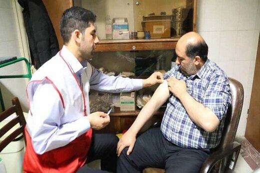 ۴۳۰نفر توسط هلال احمر قزوین واکسینه شدند