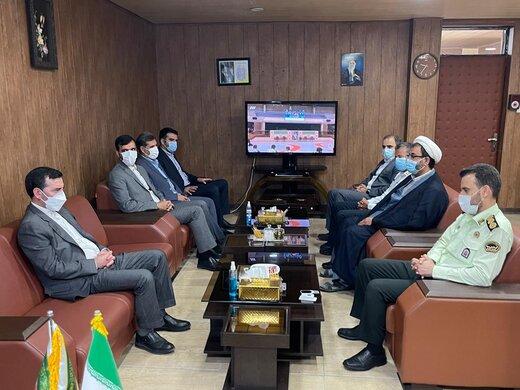 توسعه اقتصادی و گردشگری قشم با هماهنگی نیروی انتظامی و سازمان منطقه آزاد