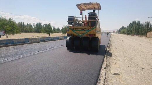 از ابتدای سال جاری: آسفالت ۱۸۶ کیلومتر از محورهای مواصلاتی آذربایجانغربی