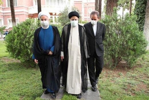 روحانی به رئیسی: آقا مبارک باشد!