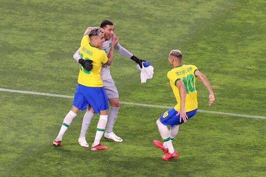 برزیل با دنی آلوز قهرمان فوتبال المپیک شد