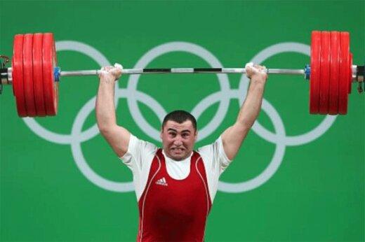 ببینید | لحظه شکسته شدن رکورد المپیک در دسته ۱۰۹ کیلوگرم توسط وزنهبردار ارمنستان