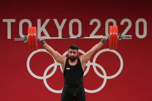 علی هاشمی در یک ضرب المپیک توکیو پنجم شد