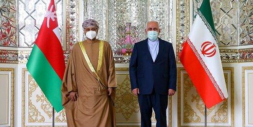 دیدار وزیران خارجه ایران و عمان در تهران/عکس