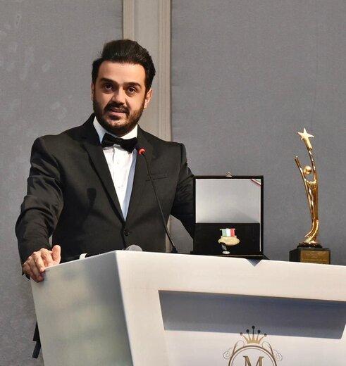 جراح دندانپزشک و تهیهکننده سینمای ایرانی برنده برند برتر از دانشگاه اروپایی شد