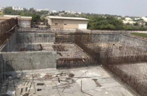 پیشرفت ۷۰ درصدی ساخت مخزن SBR تصفیه خانه شمال جزیره کیش