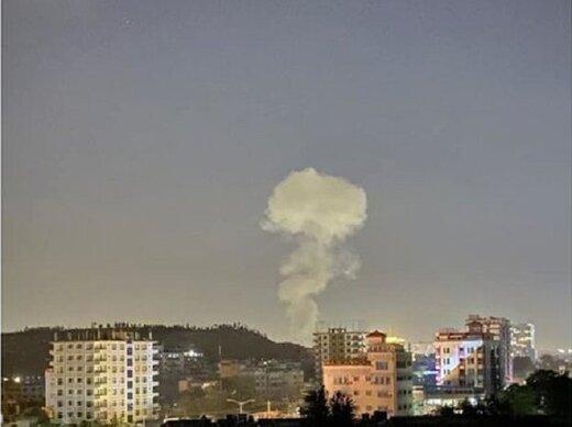 انفجار مهیب در مرکز کابل/ورود افراد مسلح به منزل سرپرست وزیر دفاع افغانستان/ دود آسمان را فرا گرفت