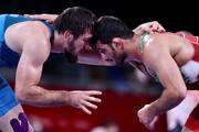تصاویر | غرش پلنگ مازندران روی تشک کشتیِ المپیک