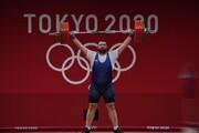 ببینید | قدرتنمایی علی داودی در وزنه برداری المپیک