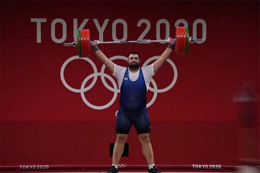 ببینید | علی داوودی با این وزنه نایب قهرمان المپیک شد