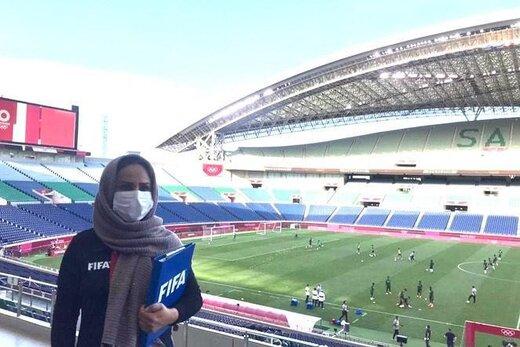 احتمال حضور یک بانوی ایرانی در فینال فوتبال المپیک