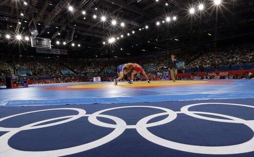 اقدام سوارسگونه در کشتی المپیک 2020! /عکس