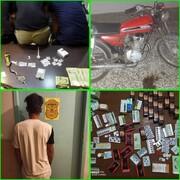 ۲ سارق و ۴ خرده فروش مواد مخدر در اروندکنار دستگیر شدند