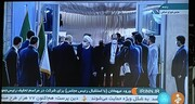 قالیباف به استقبال حسن روحانی رفت +عکس