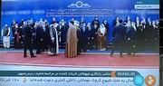 عکس یادگاری سران کشورهای خارجی با ابراهیم رئیسی