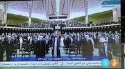 آغاز مراسم تحلیف رئیسی با حضور روسای سه قوه در پارلمان /روحانی و رئیسی همنشین شدند