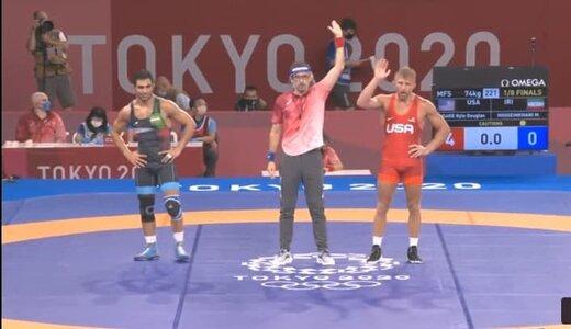 شکست حسینخانی مقابل قهرمان جهان
