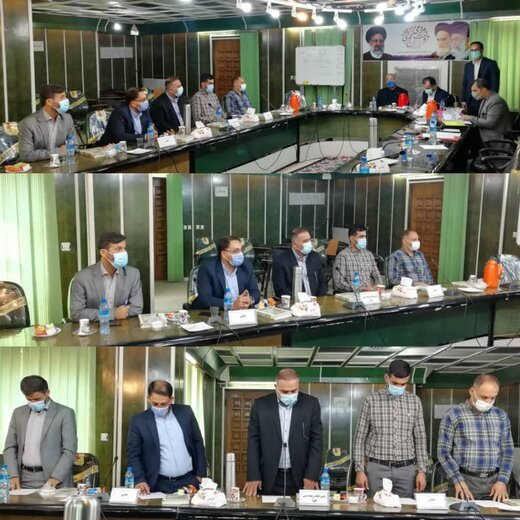 اعضای هیات رئیسه ششمین دوره شورای شهر چوئبده مشخص شدند