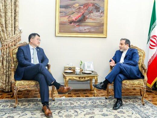 توییت قائم مقام وزارت خارجه کره جنوبی پس از دیدار با عراقچی/عکس