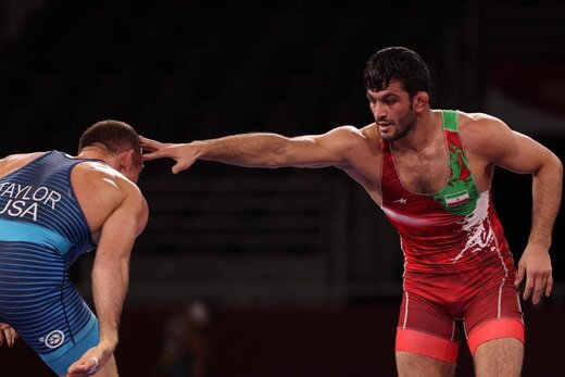 حسن یزدانی مدال نقره را کسب کرد