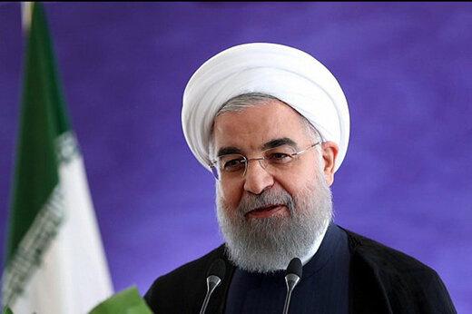 ببینید | ورود حسن روحانی به مراسم تحلیف ریاست جمهوری