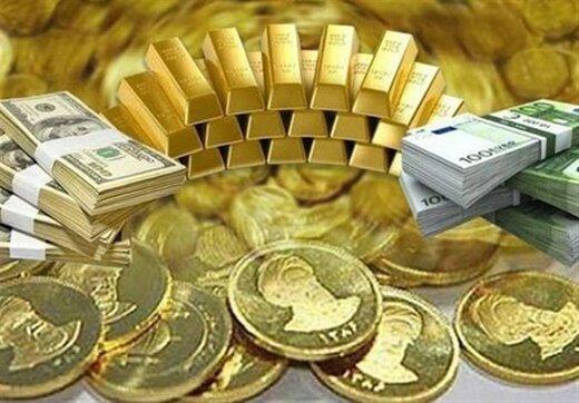 قیمت طلا، سکه و ارز ۱۴۰۰/۰۶/۲۹/تداوم ریزش قیمتها در بازار طلا و ارز